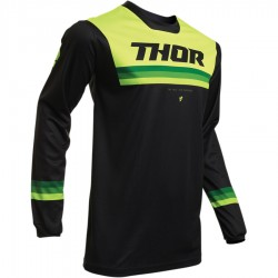 Bluza Thor Pulse Pinner Black/Acid