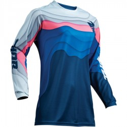 Bluza damska Pulse Depths Ocean/Pink