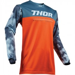 Bluza Thor Pulse Air Acid Red Orange/Slate