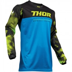 Bluza Thor Pulse Air Acid Electric Blue/Black